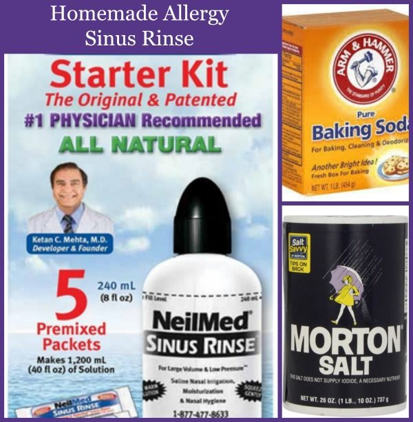 Homemade Allergy, Sinus Rinse if you are like me and suffer from seasonal allergies and you are looking for budget friendly ways and more natural methods to ...