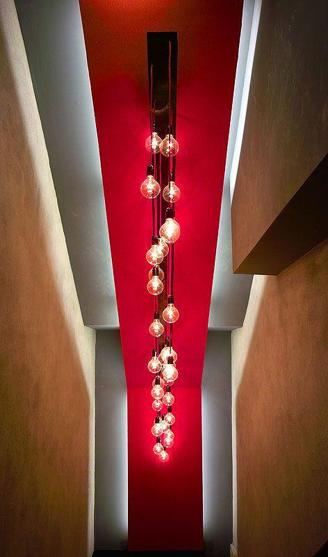 Contemporary interior lighting the Adventure Bar u0026 Lounge at Covent Garden | Contemporary Interior Design Forum & Contemporary interior lighting the Adventure Bar u0026 Lounge at ... azcodes.com