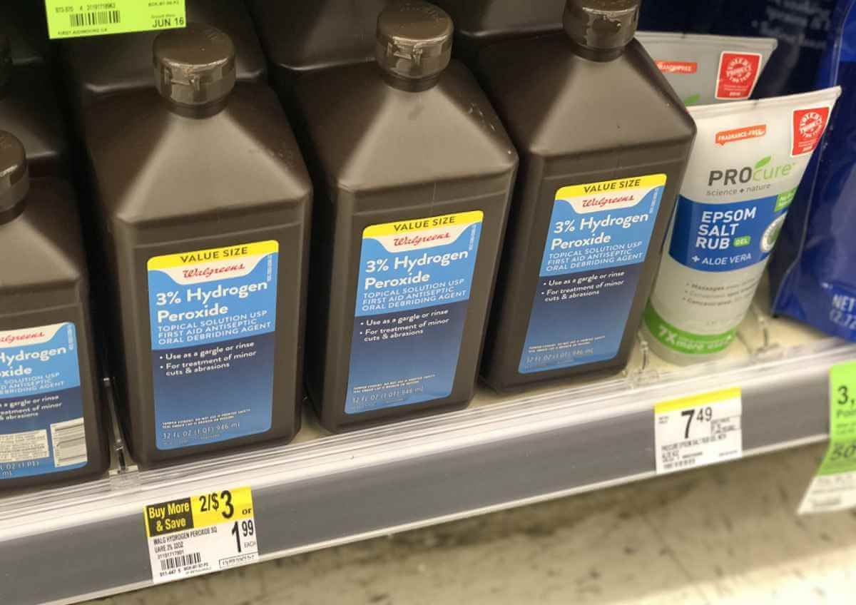 Why Is Hydrogen Peroxide Sold In Brown Bottles Brown Bottles Bottle Hydrogen Peroxide