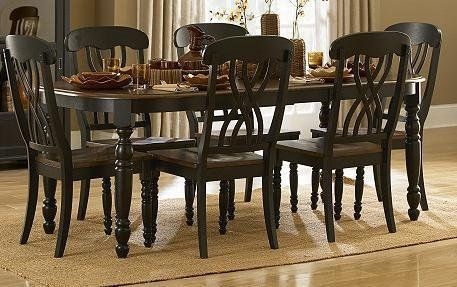 Homelegance Ohana 7 Piece Rectangle Dining Table Set Black Cherry From Thanksgiving Stuffing To Saay Snacking The Pc