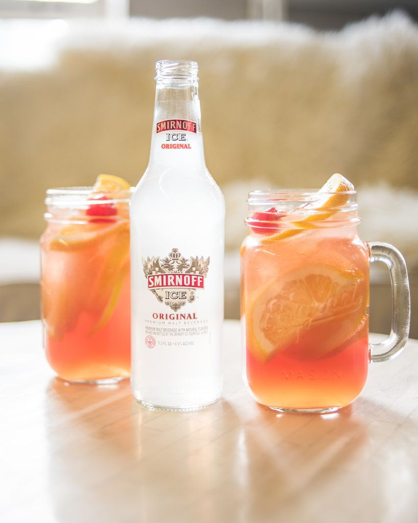 Sour mix meets sweet maraschino cherries and a hit of sparkling fizz, thanks to a final splash of Smirnoff ...