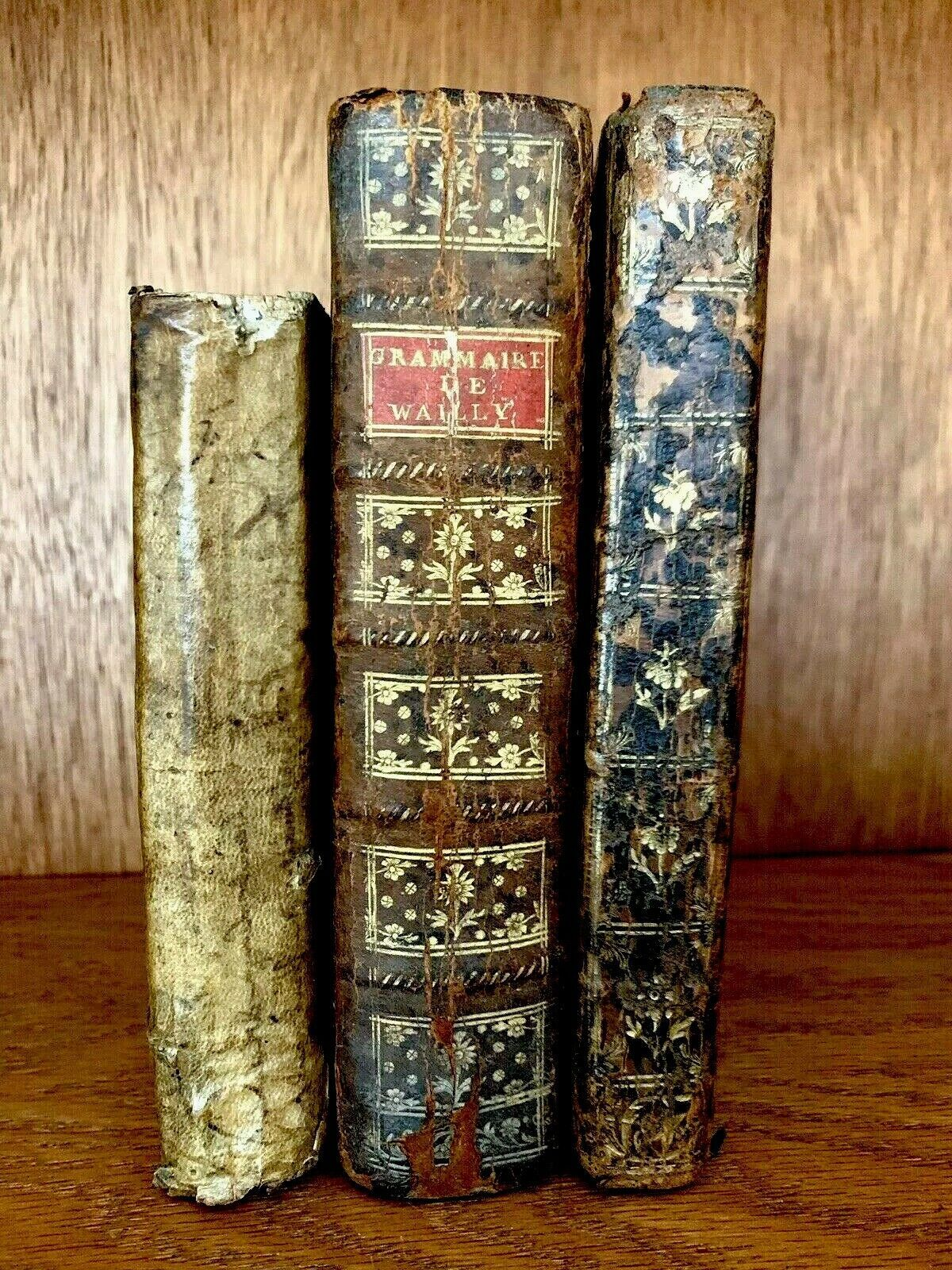Forsale collection of old books 1700s rare collectible