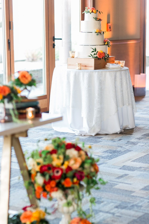 Modern Sophisticated Coronado Community Center Wedding | Tier ...