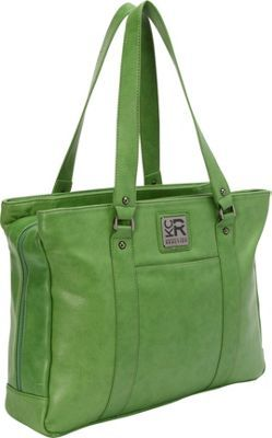 The coolest women s workbag... love Kenneth Cole Reaction Hit a Triple Faux  Leather Laptop Tote - EXCLUSIVE COLORS Kelly Green - EXCLUSIVE - via  eBags.com! fb8c208f21f56