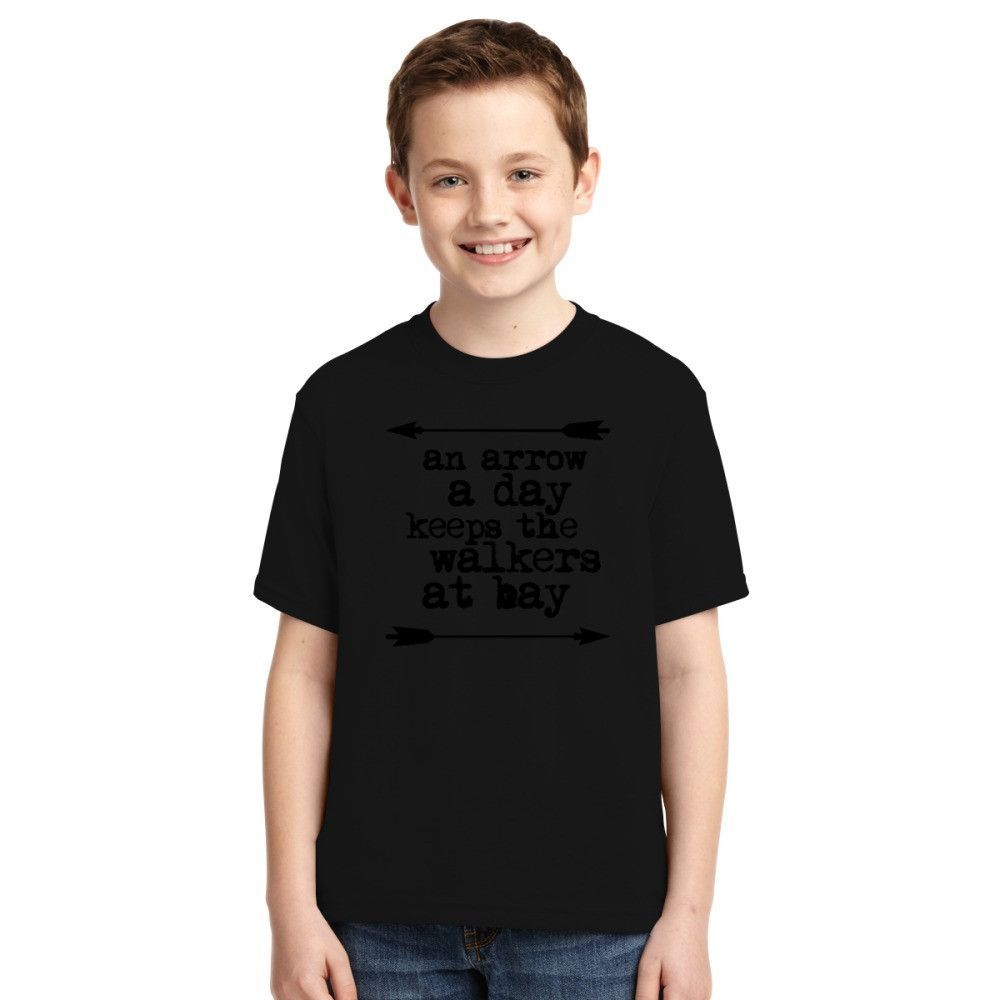 An Arrow A Day, Keeps The Walkers At Bay Youth T-shirt