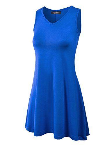 549ab333604  14.95--XXXL--Wt827 ROYAL BLUE --- MBJ Women s Sleeveless