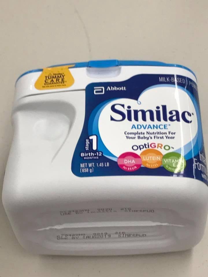 Similac Advanced Milk Based Powder with OptiGRO  1.45 lbs  FACTORY SEALED NEW