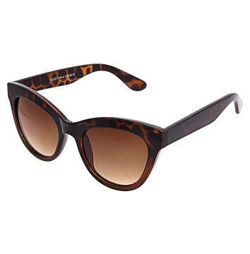 Oculos Solares Anna Flynn Gatinho Marrom