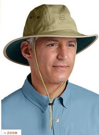978fb59b Coolibar Men's Wide Brim Sun Hats UPF50+ | Headgear | Mens sun hats ...