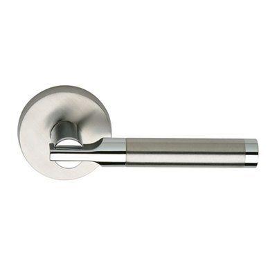 Omnia Industries 23 00 Pd32d Lever Latchset Indoor Door Handle Brushed Stainless Steel Indoor Door Handles Indoor Doors Buying Appliances