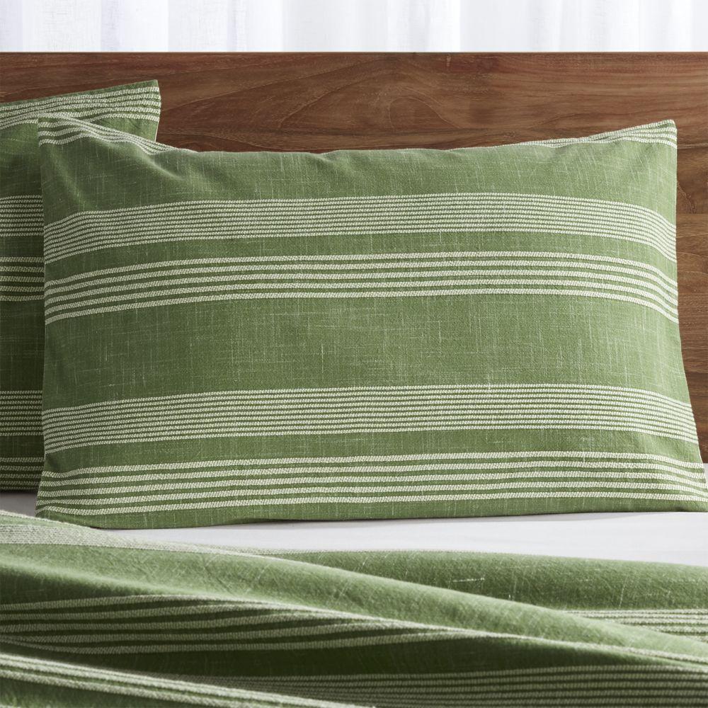 Monterey green standard pillow sham products pinterest pillows