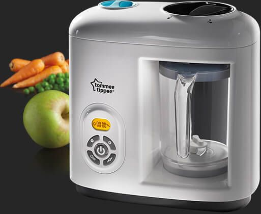 Weaning With The Tommee Tippee Steamer Blender Really Good