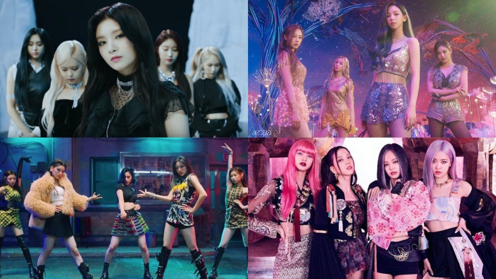Top 25 Most Watched K Pop Mvs Of 2020 Female Artists Female Artists Female Good Music