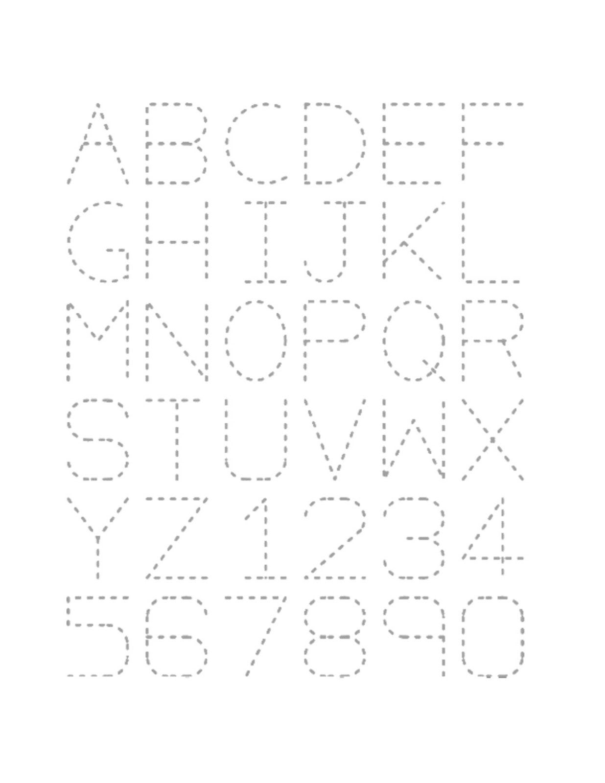Free Traceable Alphabet Worksheets For Tidy Handwriting