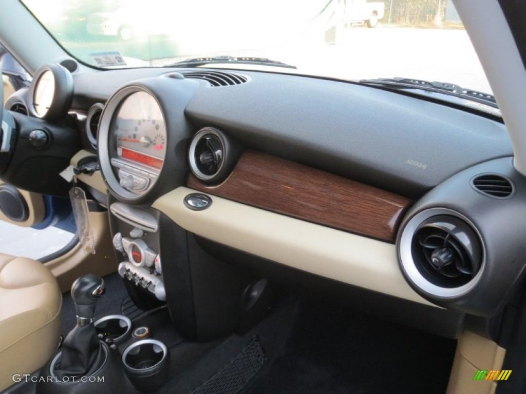 2008 mini cooper s clubman gravity tuscan beige dashboard. Black Bedroom Furniture Sets. Home Design Ideas
