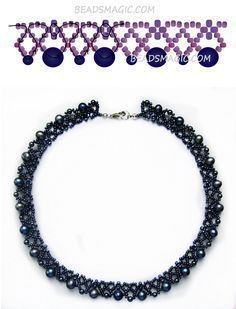 Photo of Free pattern for necklace Elegance