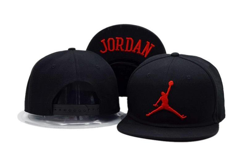 708296e1310a 2018 New Fashion Air Jordan Hip Hop Flat Snapback Hat