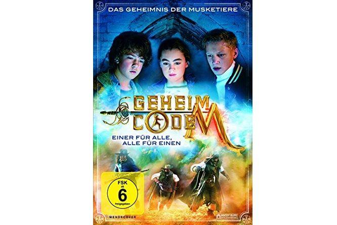 """Wir verlosen 2x den Familienfilm """"Geheimocde M"""" auf DVD!  Zum Teilnahmeformular:"""