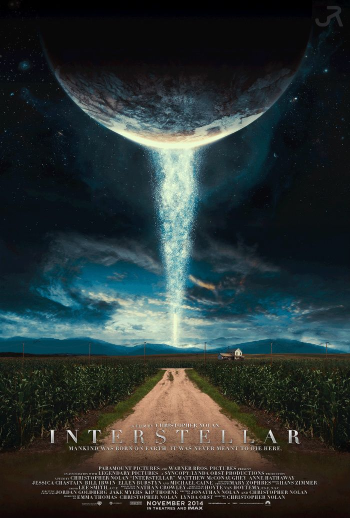fantastic fan poster for christopher nolan s interstellar