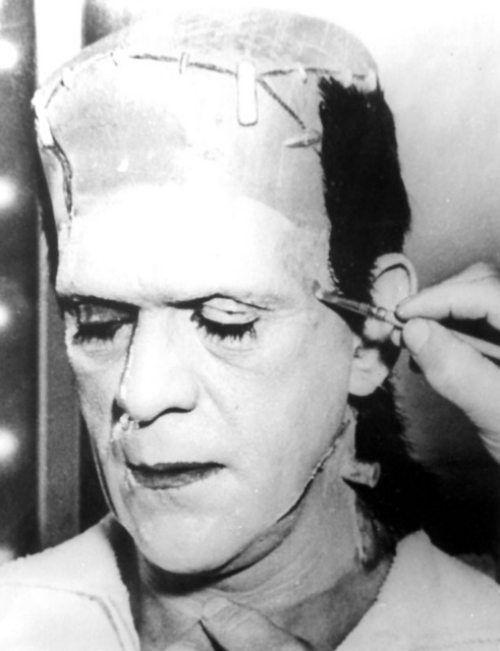 Behind, the, scenes, 1931, Frankenstein, movie5