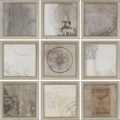 Paragon Time by Allison Pearce: 10 x 10 Framed Print, Set of Nine ...