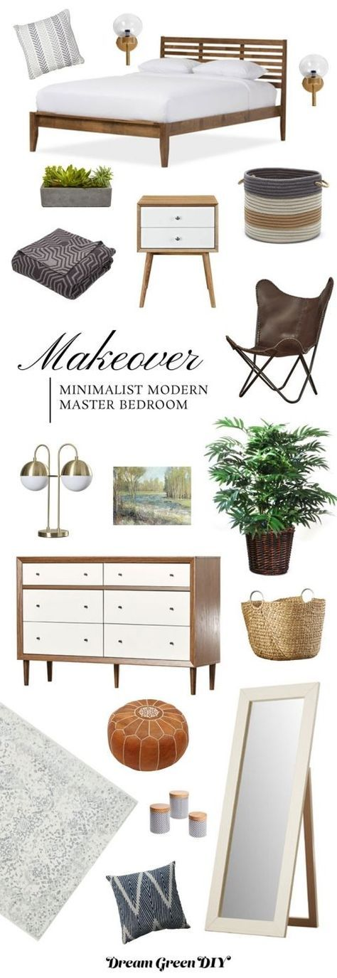 A Modern Master Bedroom Mood Board
