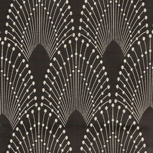 Rivoli prussian blue inspiring patterns pinterest for Art deco fabric