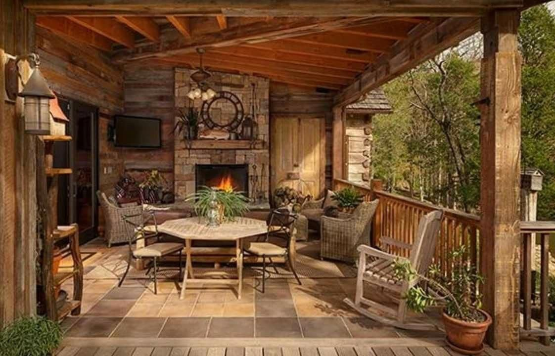 Log Home Decorating - Into Interesting log decorating. log ...