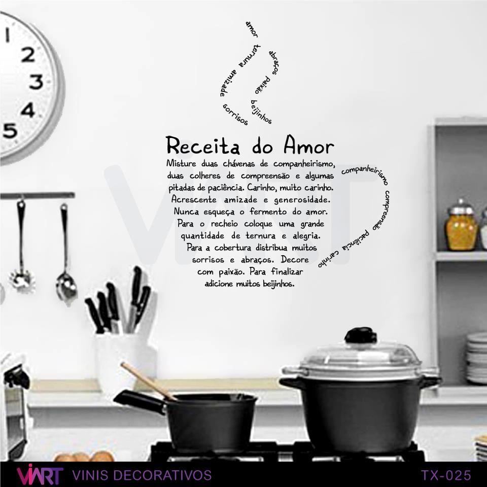 ♥ RECEITA DO AMOR Misture duas chávenas de companheirismo, duas ...