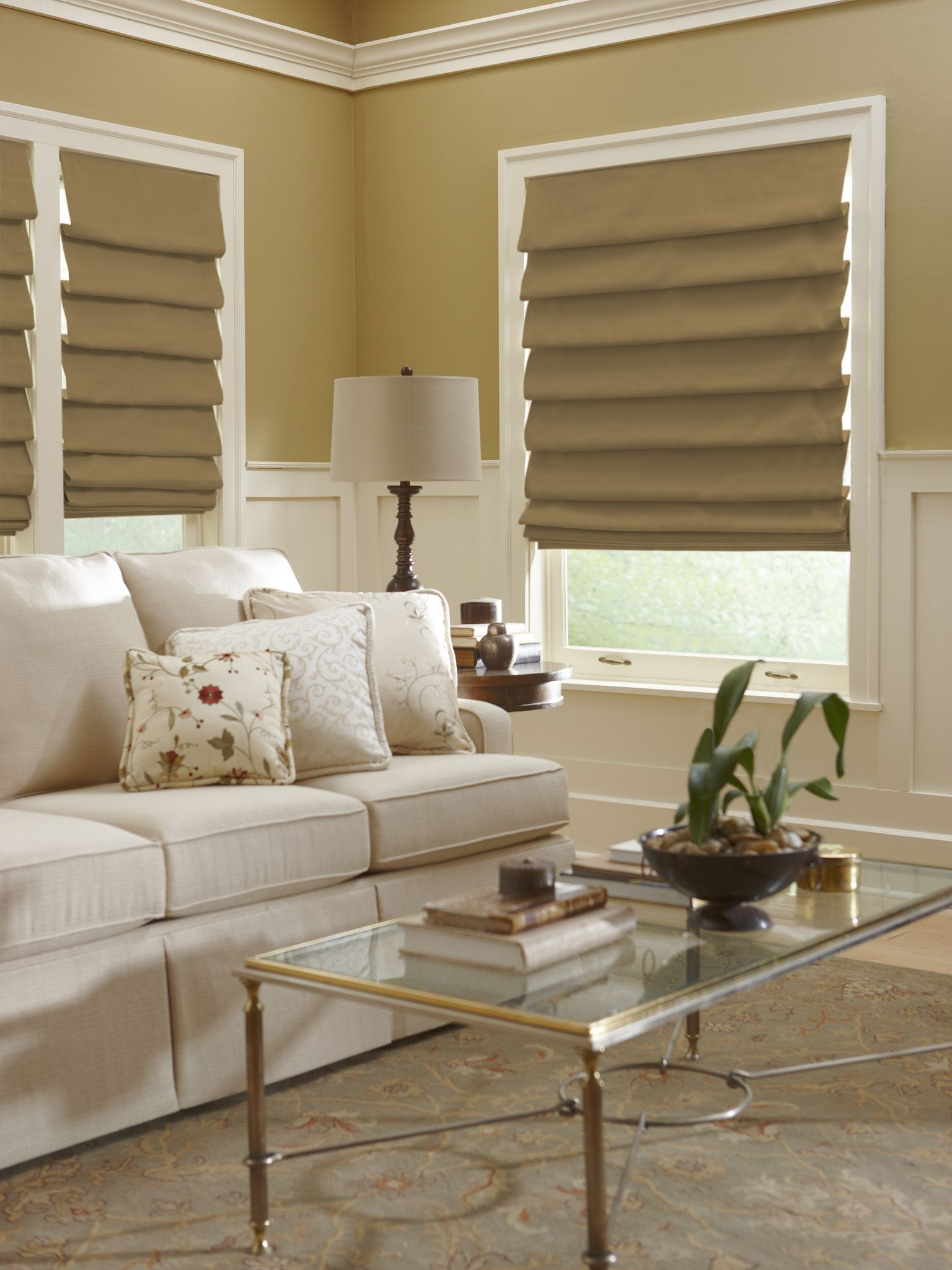 Hobbled Roman Soft Shade From Horizons Horizonshades Com