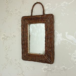 Rustic Wicker Wall Mirror | Mirrors You Love! | Pinterest | Dressing ...