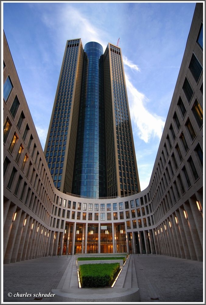 Frankfurt Architektur tower 185 frankfurt germany 200 meters architecture