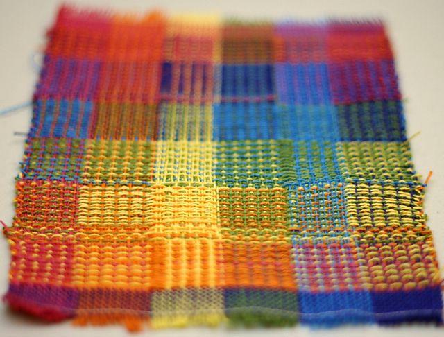 Ravelry Cutler070805 S Crackle Gamp Www Weave Away Blogspot Com Weaving Fabric Woven
