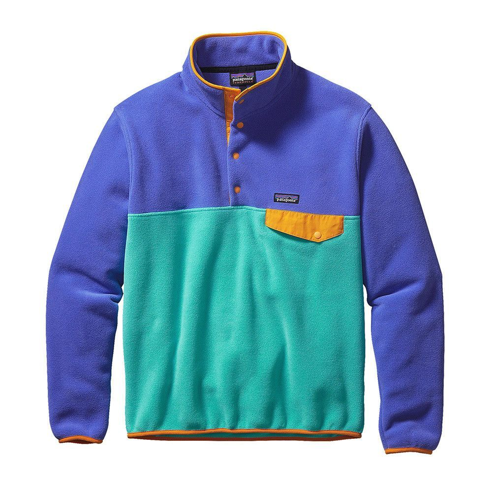Patagonia Men's Lightweight Synchilla Snap-T Fleece Pullover ...