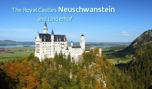 Neuschwanstein Palace Stadtrundfahrt Munchen Deutschlandkarte Forggensee