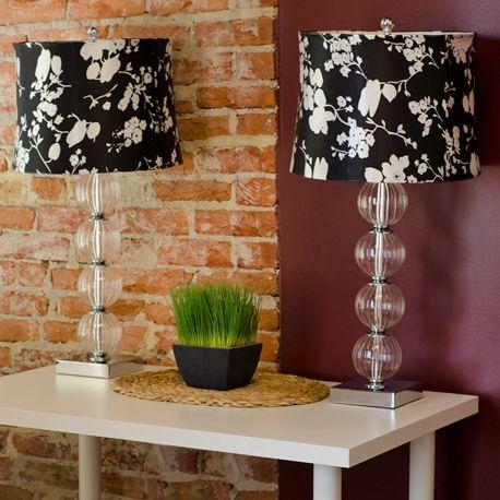 LivingSocial Shop: Set of Two Penelope Glass Globe Lamps from Safavieh