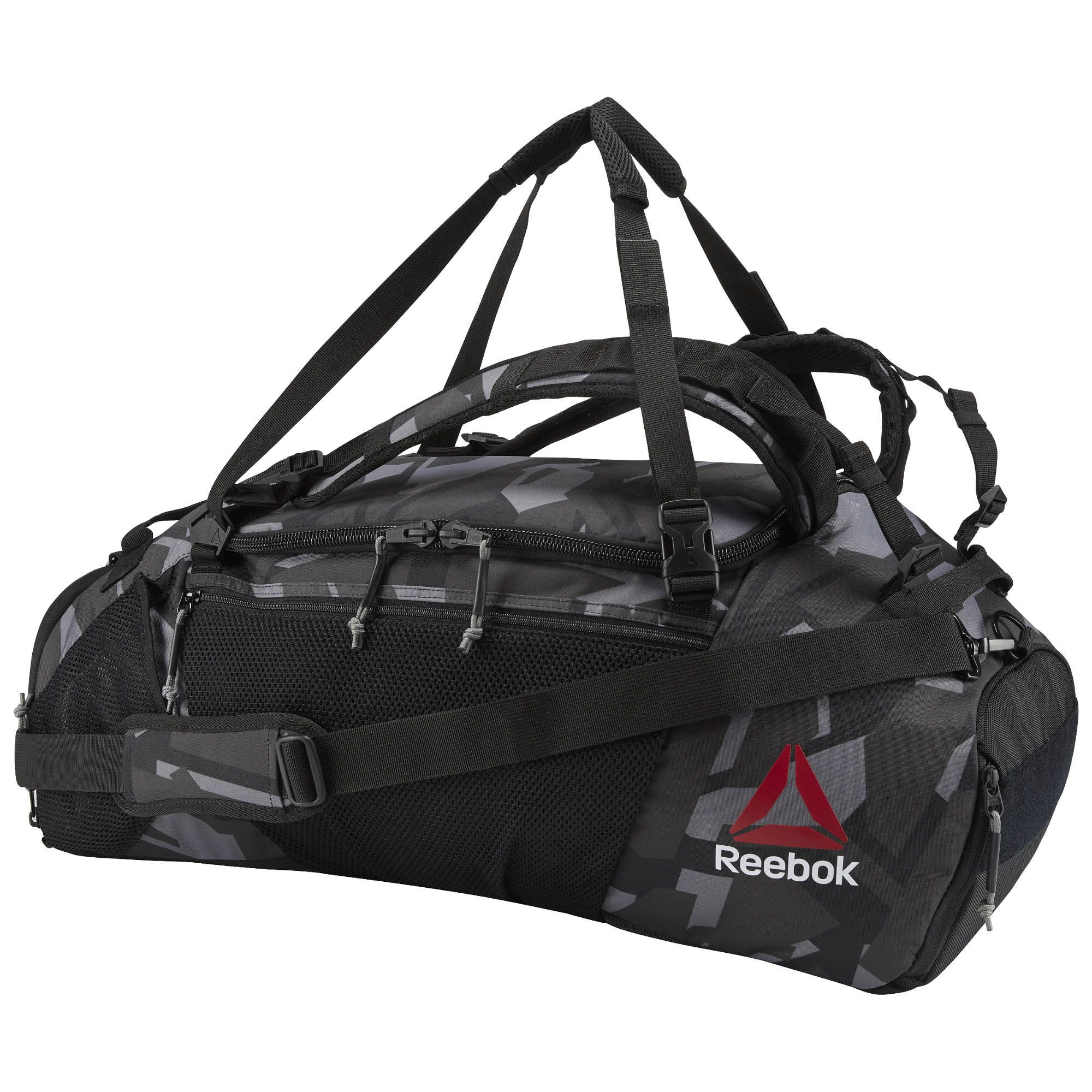 62777023 Shop for UFC Ultimate Fan Convertible Grip Duffle Bag - Black at ...