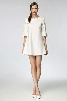 Sukienki Sklep Misebla Dresses Shift Dress White Shift Dresses
