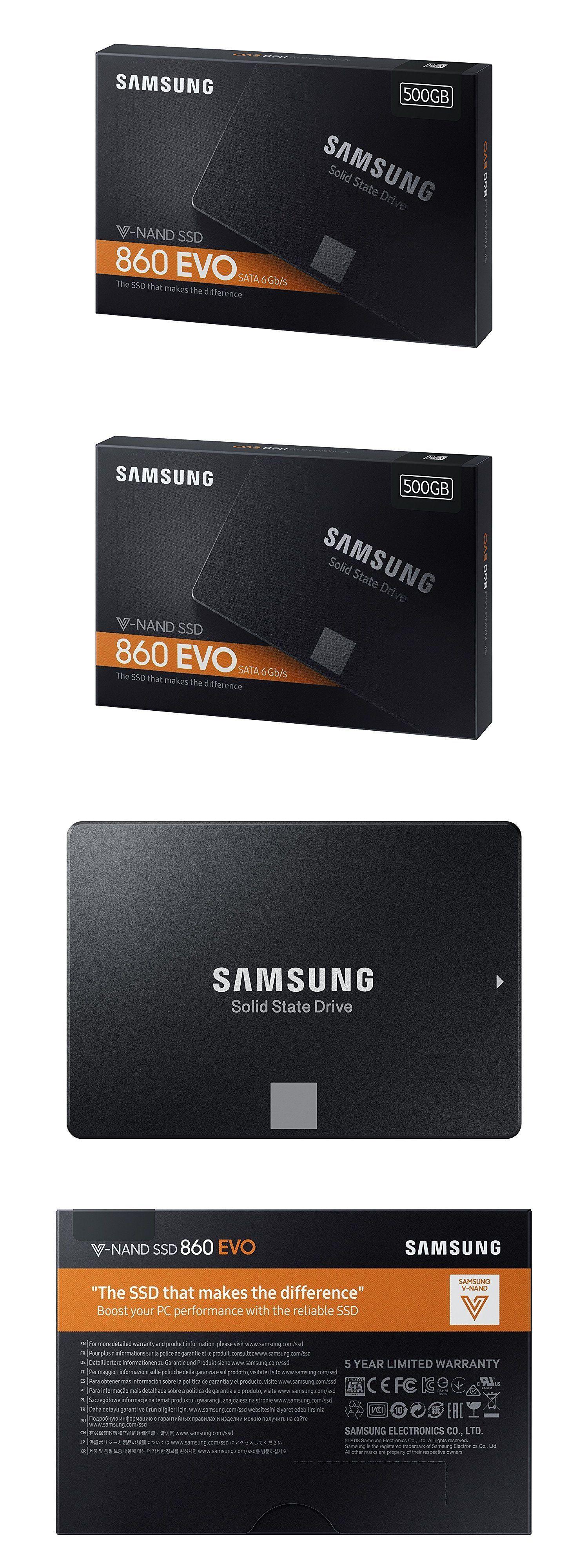 MZ-76E500B//AM Samsung 860 EVO 500GB 2.5 Inch SATA III Internal SSD
