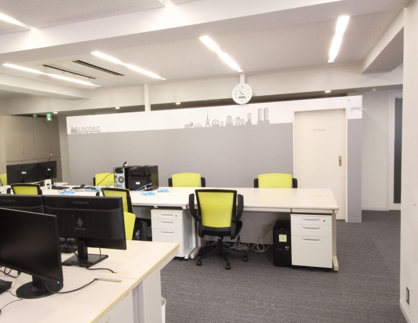 オフィスデザイン実績 クール De カワイイ 遊び心あふれるオフィス