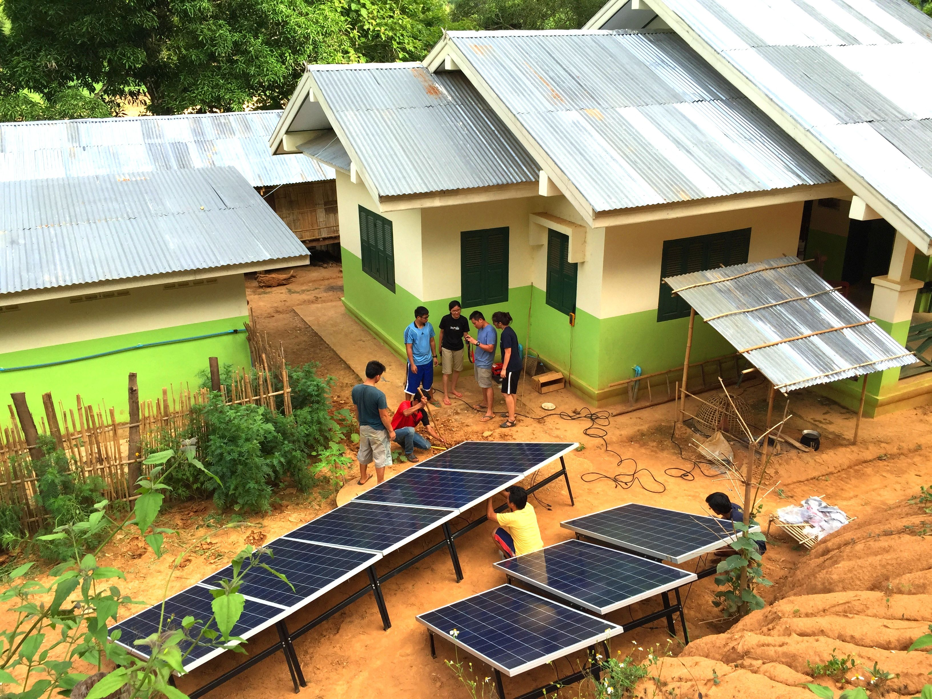 Lighting Up Rural Lives With Solar Energy Solar Earth Homes Rural Life