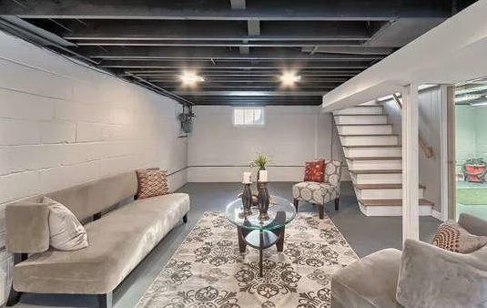 How To Update Your Unfinished Basement On A Budget