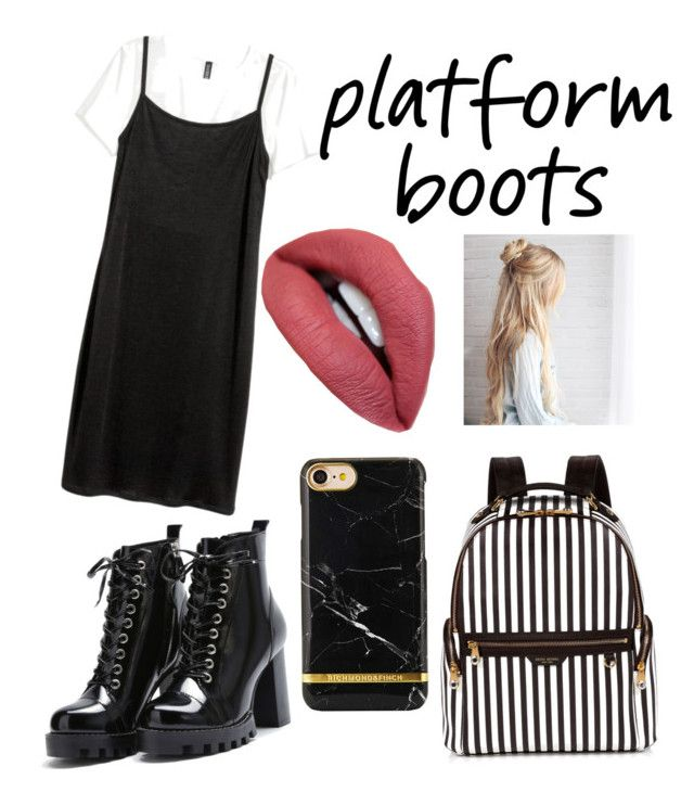"""Platform Black"" by thylynmoore on Polyvore featuring Henri Bendel"