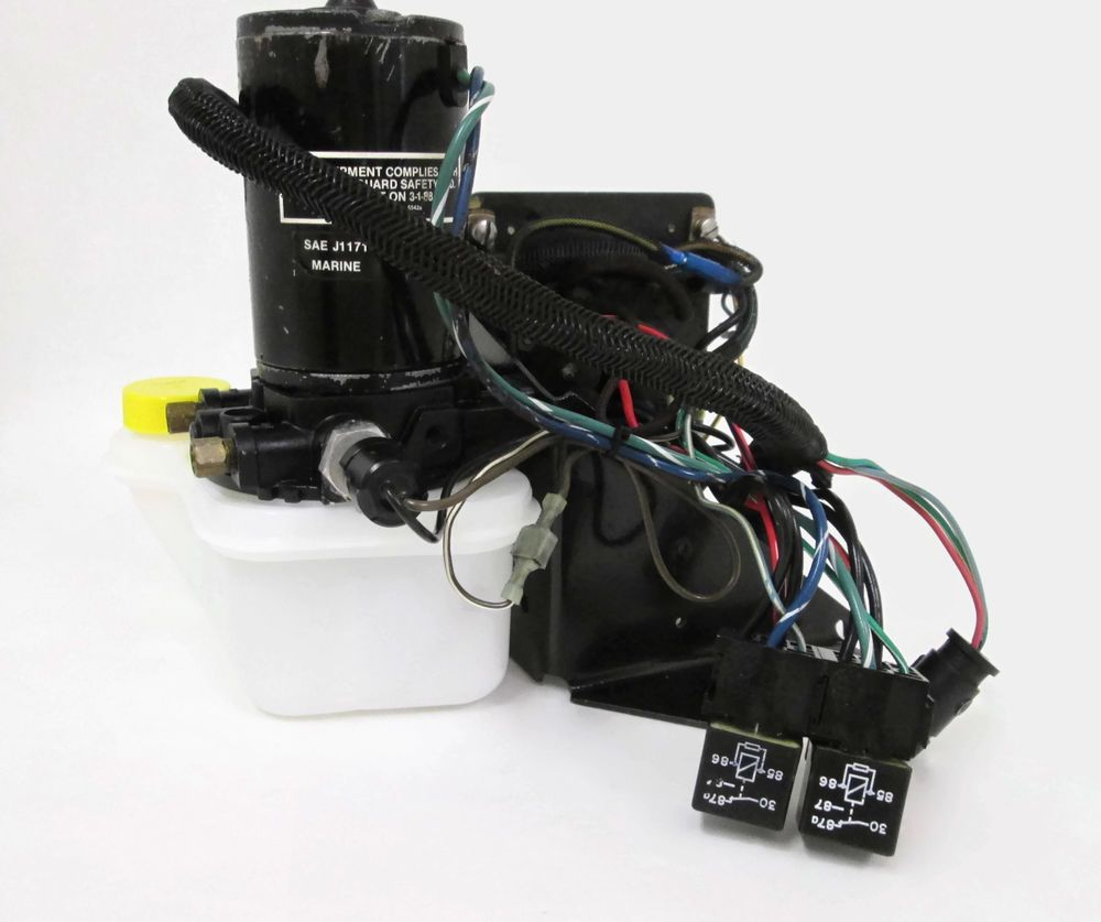 Details About F722541 Force L Drive Trim Pump Reservoir Relays Sailboat Wiring Harness Assembly Mercuryforce Ldrive Tilt Trimpump Trimpumpassembly Wiringharness 90hp