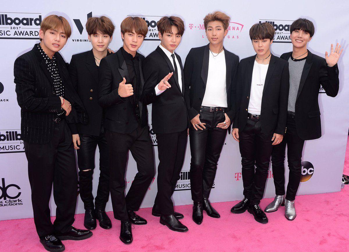 Bts Billboard Music Awards 2017 Red Carpet Bts Billboard Music Awards Bts Billboard Bts