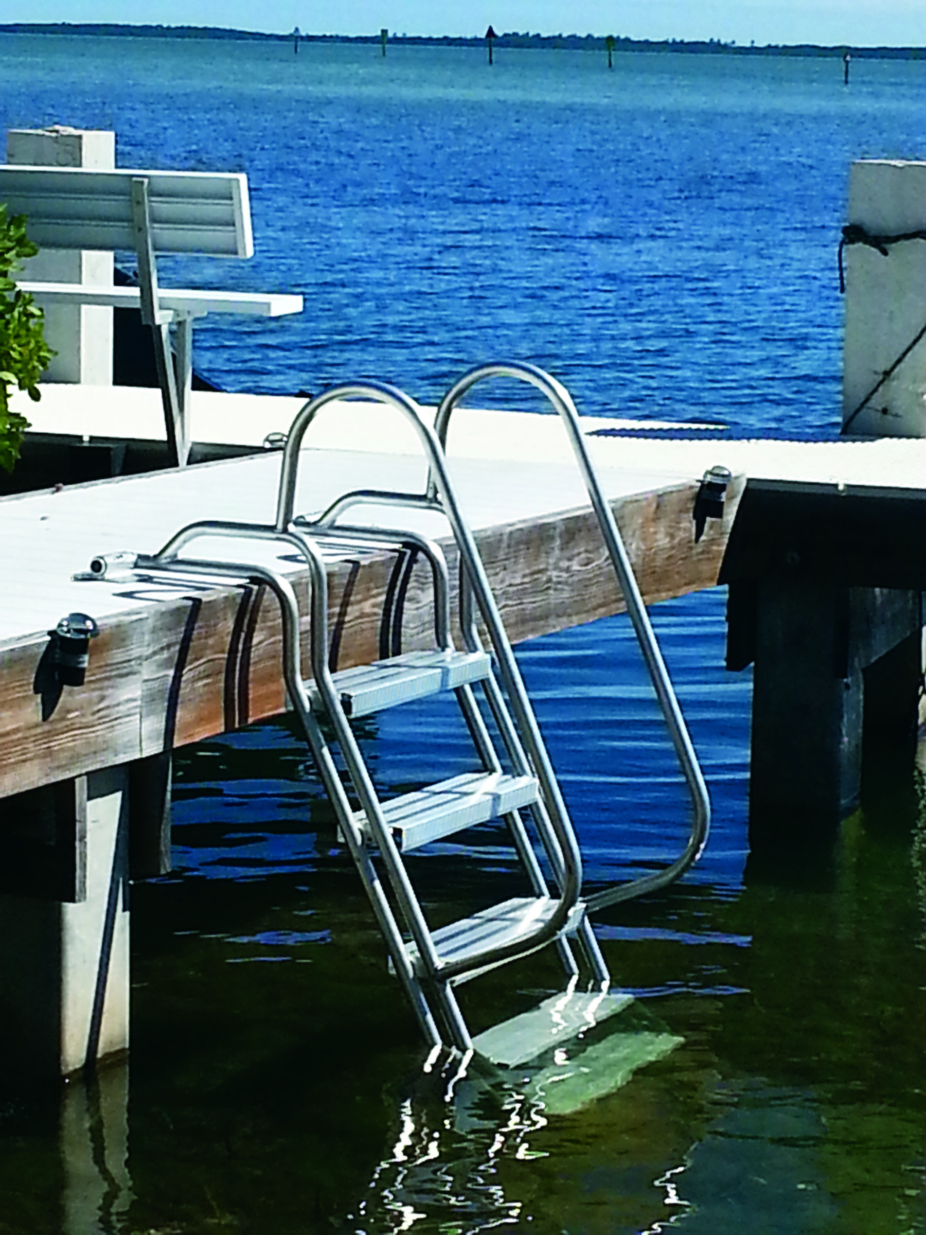 Wet Steps Ladders Make It Easier To Get Out Of The Water Pirs