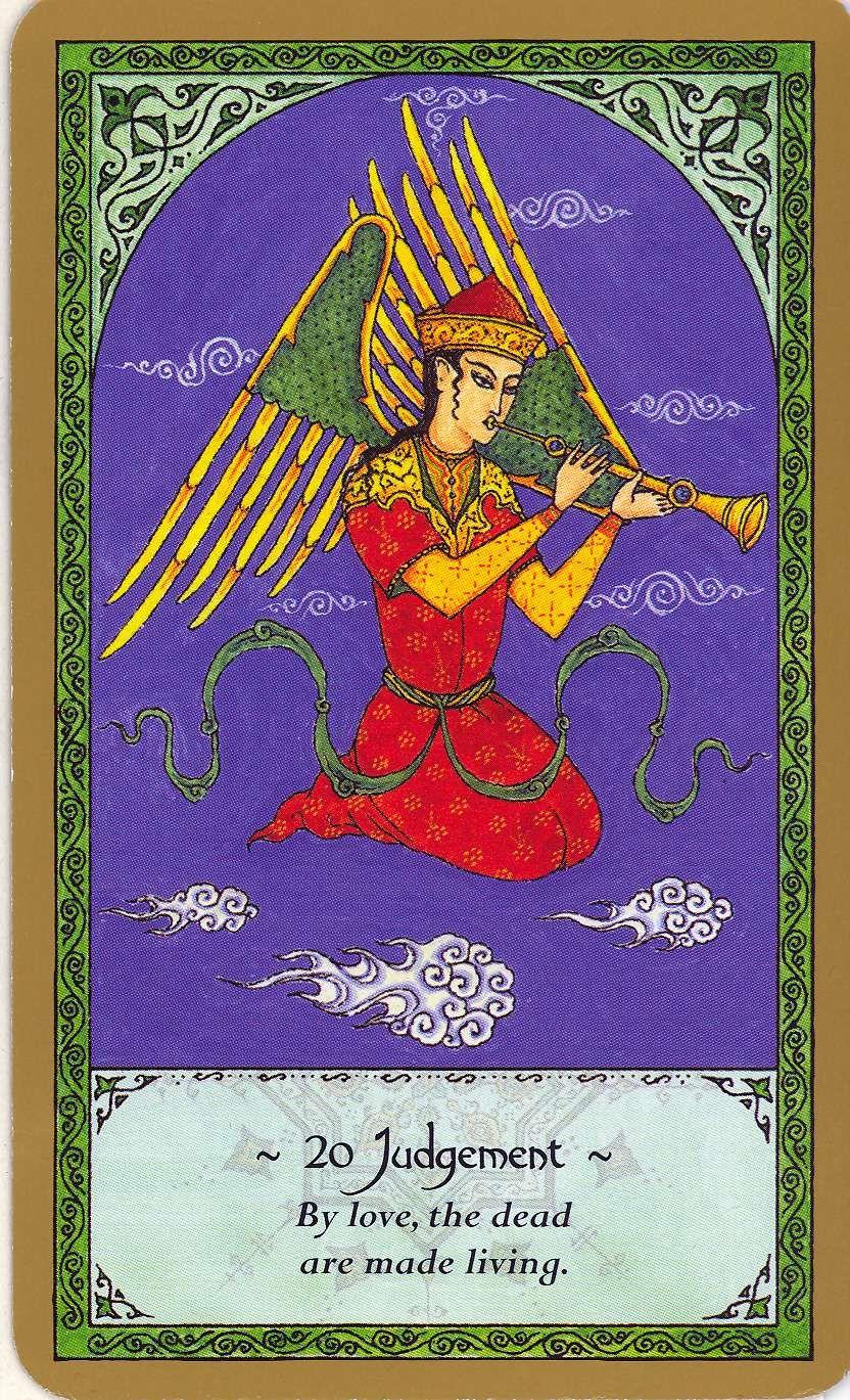 Inner Whispers April 2011 Tarot Major Arcana Judgement Tarot Card Le Tarot