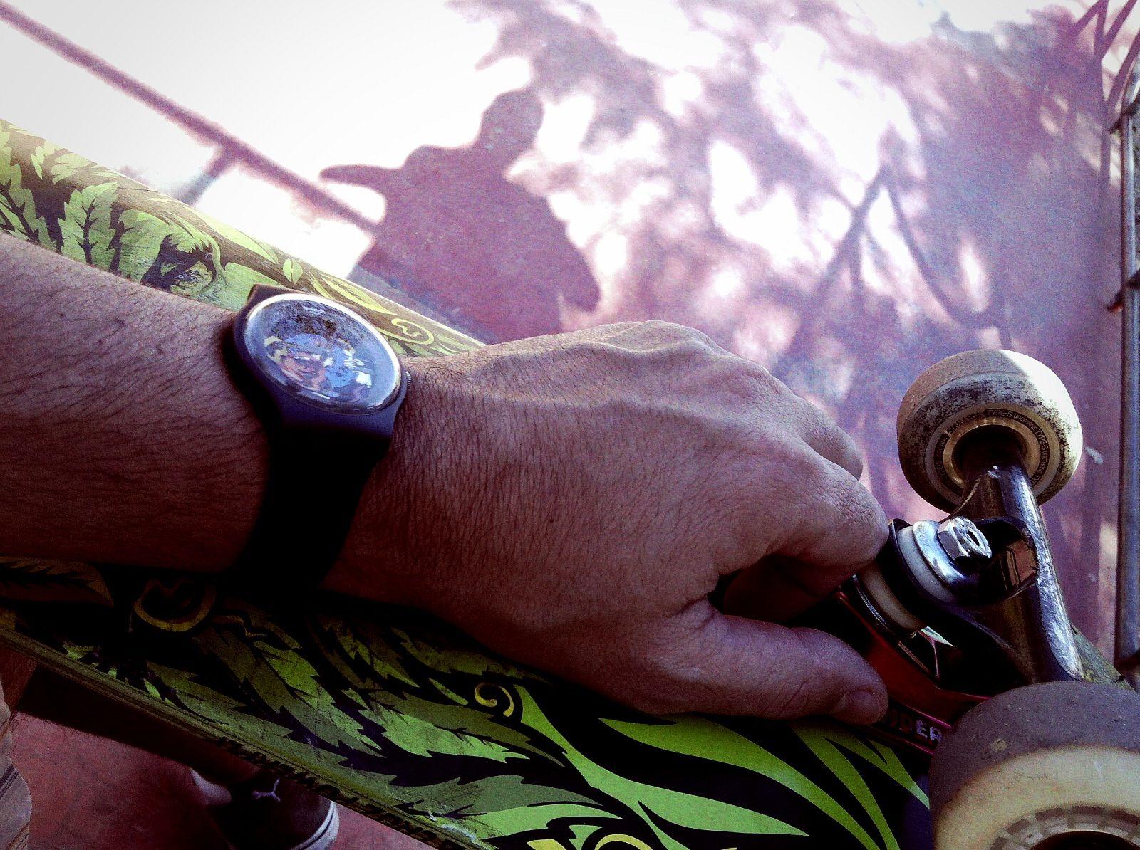 Swatch + Skate - combinação perfeita : )