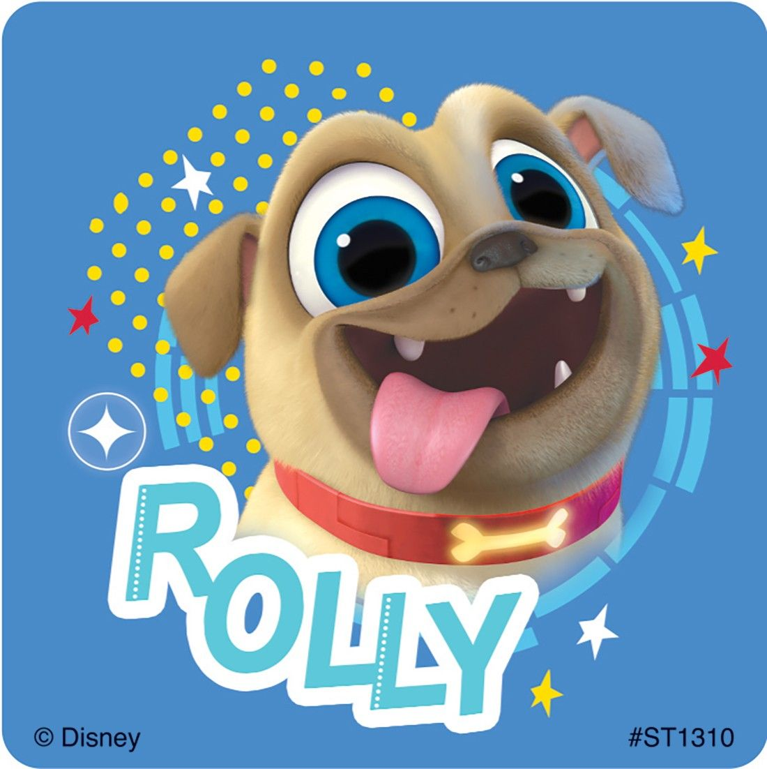 Puppy Dog Pals Stickers Dogs And Puppies Puppy Birthday Parties Puppy Birthday Invitations