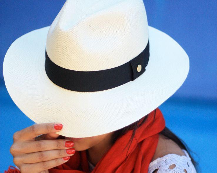 The classic Ecuadorian hat. #ecuador